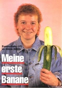 Meine erste Banane ...